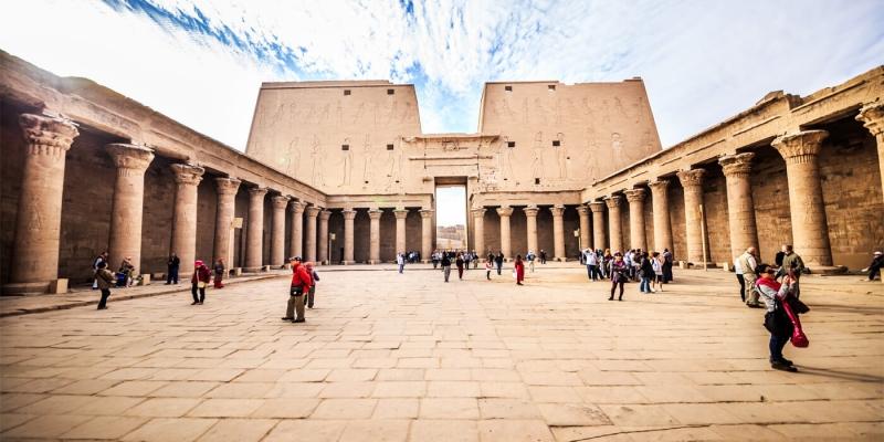 O Templo de Edfu