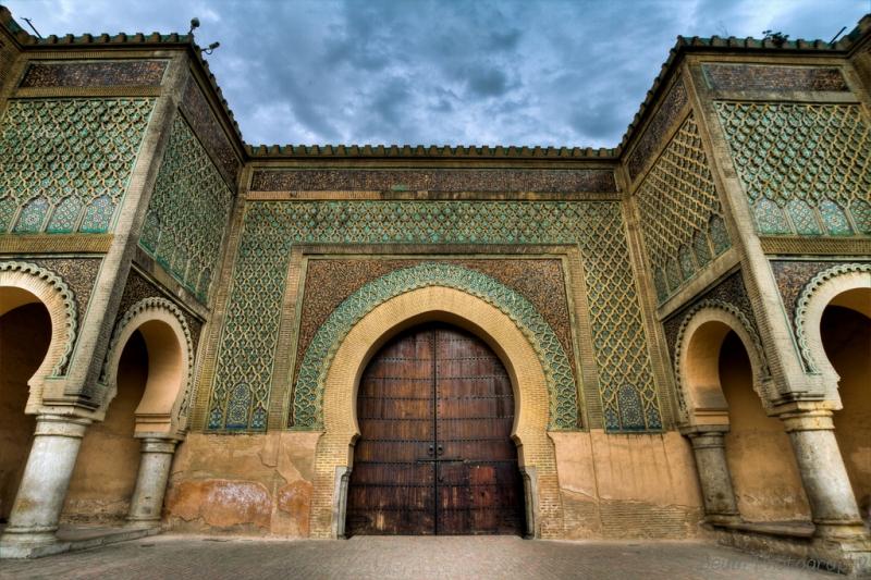 Bab Mansour gate, Marrakech