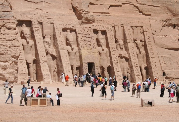 Temple of Queen Nefertari in Abu Simbel