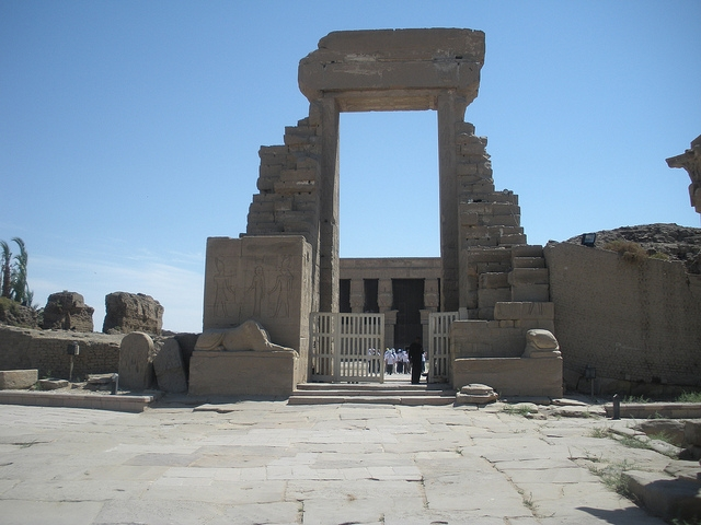 Hathour Temple at Dendara