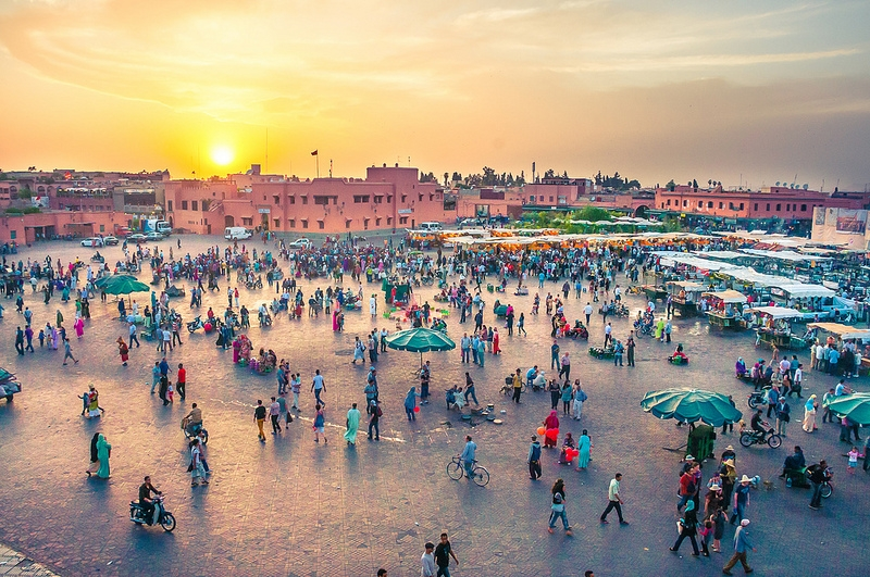 Jemaa El Fina Square at Marrakech