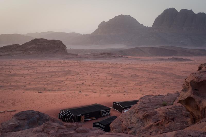 Wadi Rum (Valle della Luna) in Giordania
