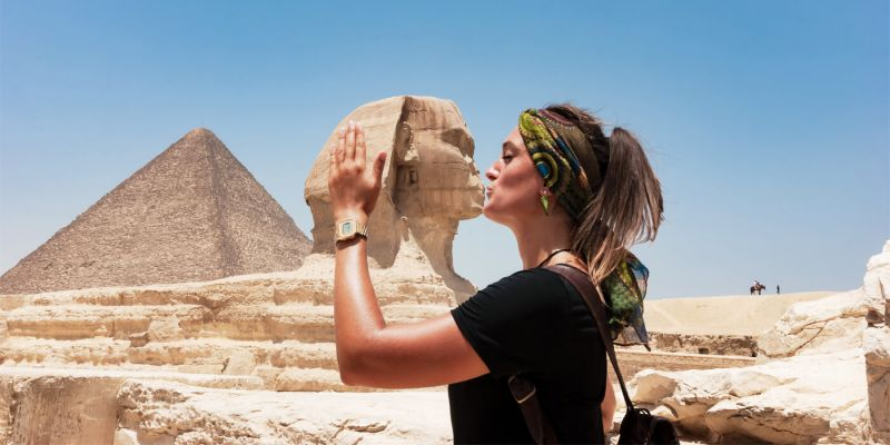 The Great Sphinx in Giza