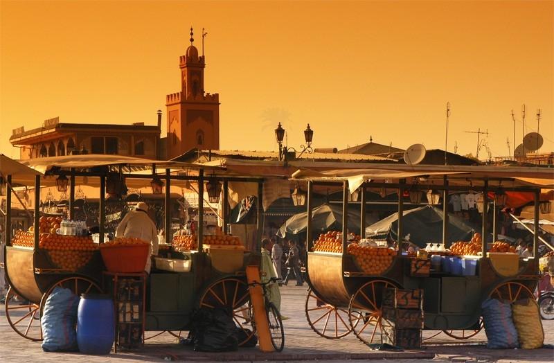 吉布提街道,摩洛哥