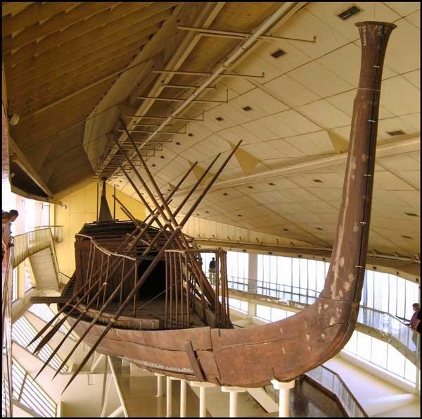 El Museo de la Barca Solar-Barca Funeraria de Keops