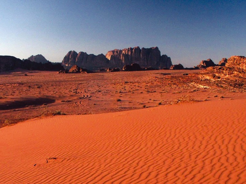 The amazing Wadi Rum