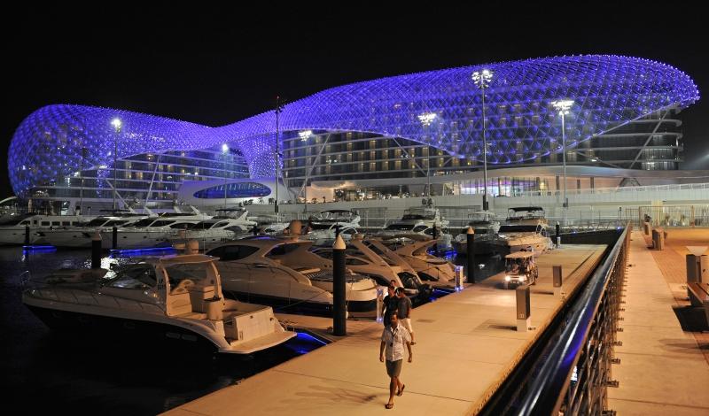 Parc Ferrari World Abu Dhabi - Escale Dubai