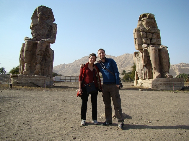 Clossi of Memnon, Luxor