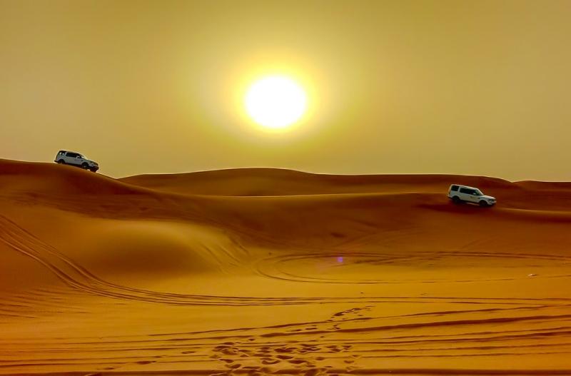 Safari no Deserto - Abu Dhabi