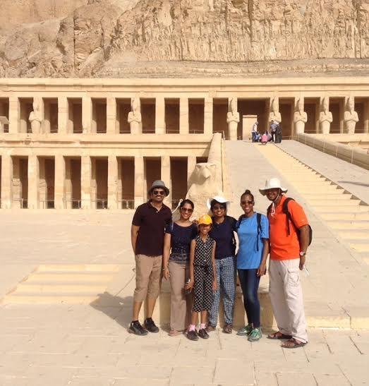 Der Hatschepsut.Tempel in Luxor