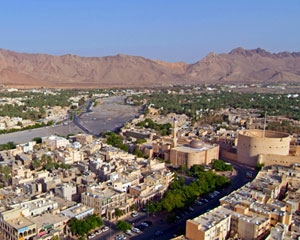 Nizwa City in Oman