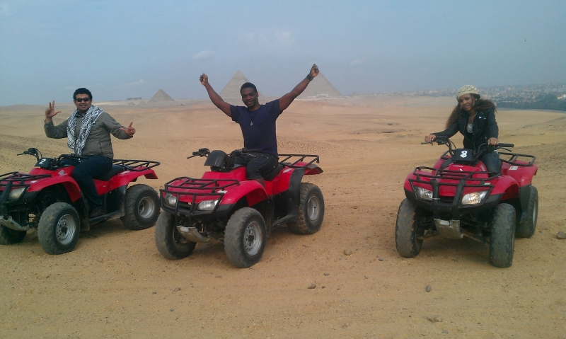 Quad-bike Safari Around Pyramids