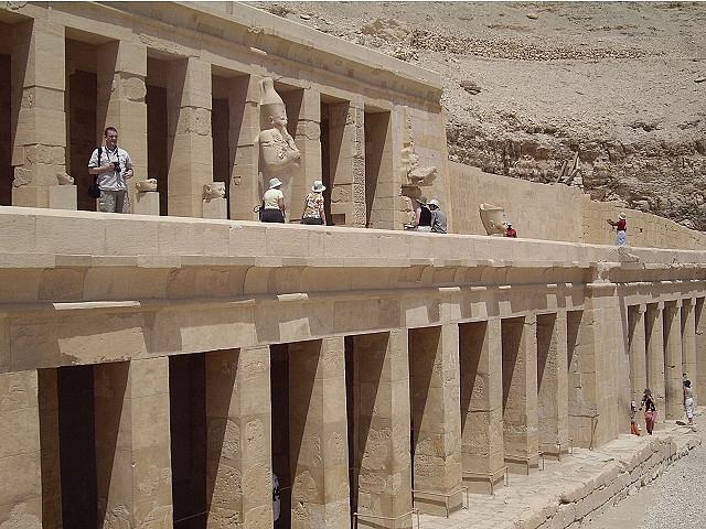 Temple of Hatshepsut in Luxor
