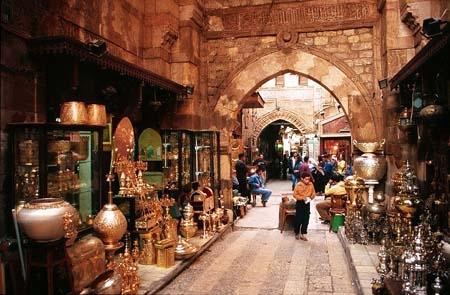 El Khan el Khalili, Le Caire
