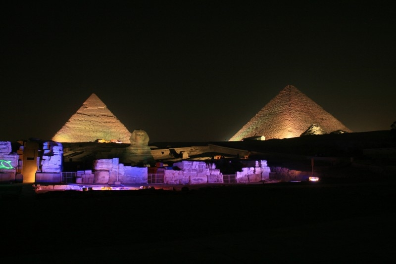 Sound & Light Show, Giza Pyramids
