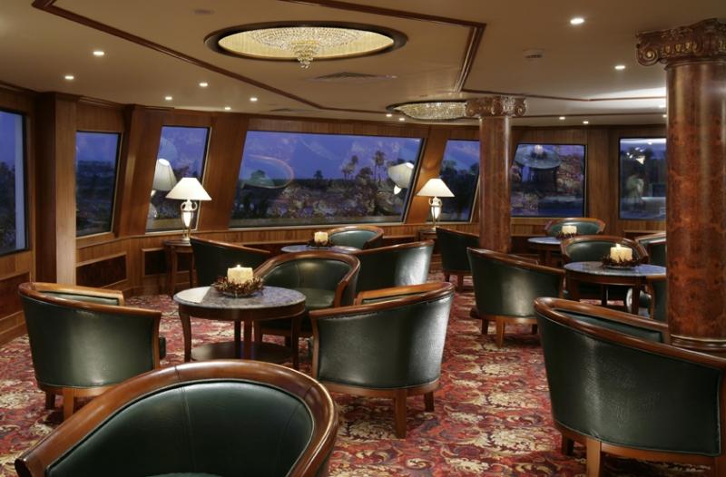Amwaj Livingstone Nile Cruise Dining Room