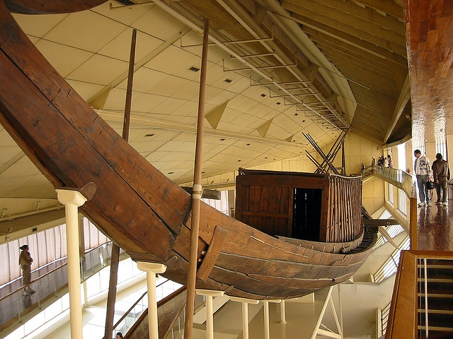 The Solar Boat Museum Egypt