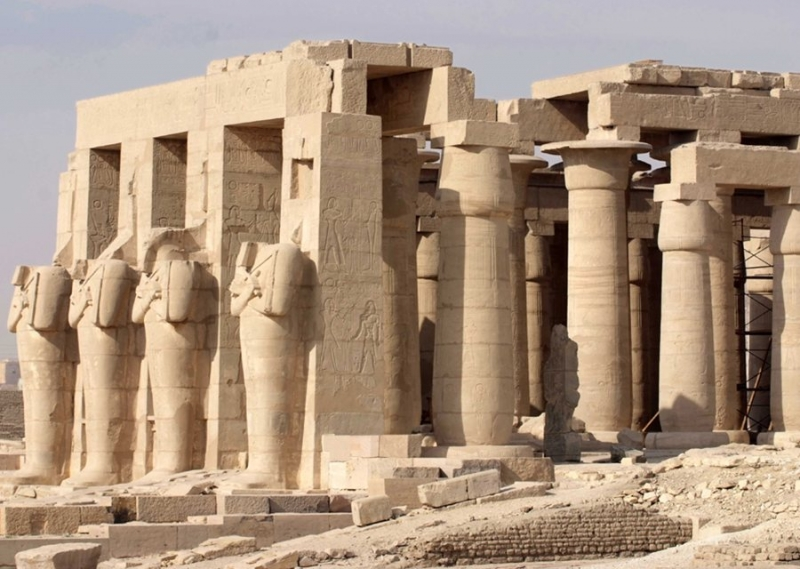 Ramses II Mortuary Temple