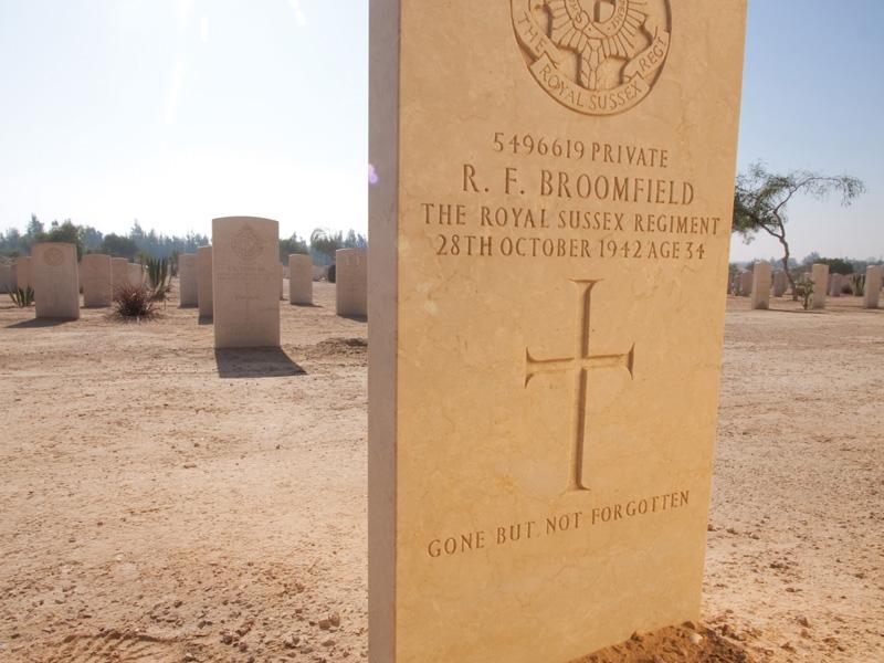 Cimitero del Commonwealth, El Alamein