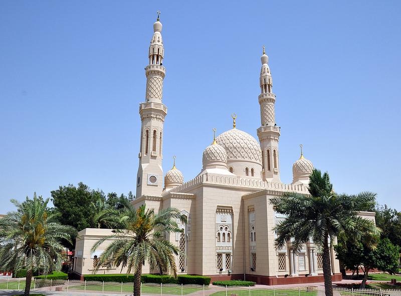 Jumeirah Mosque Dubai Mosques Islamic Dubai