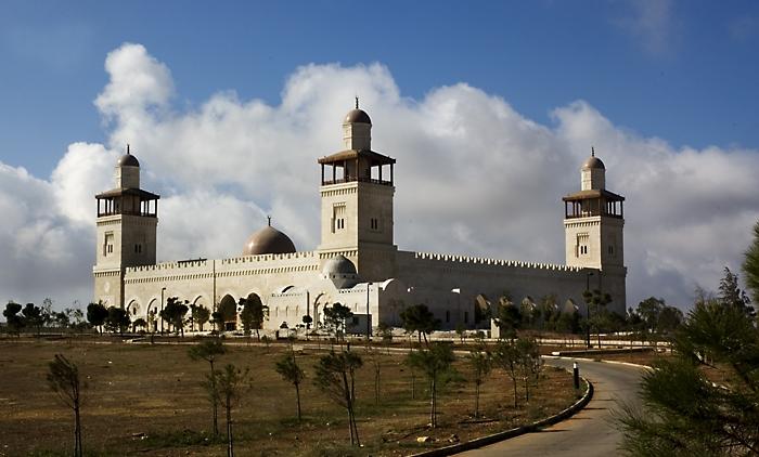 King Hussein Mosque in Amman