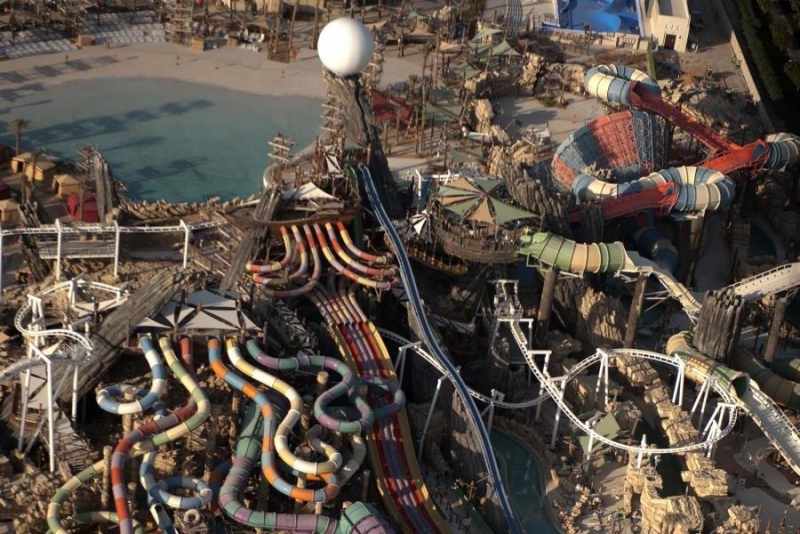 Yas Water World Tour from Dubai