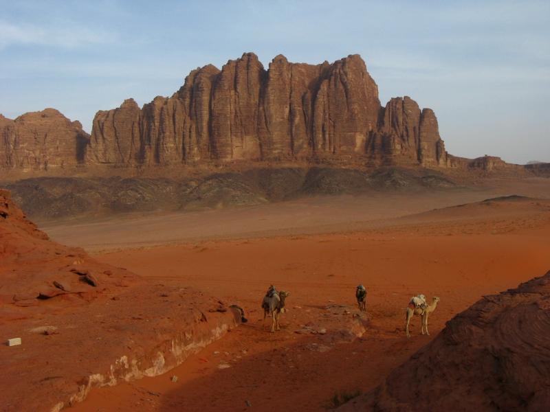 Wadi Rum desert Landscape, Jordan