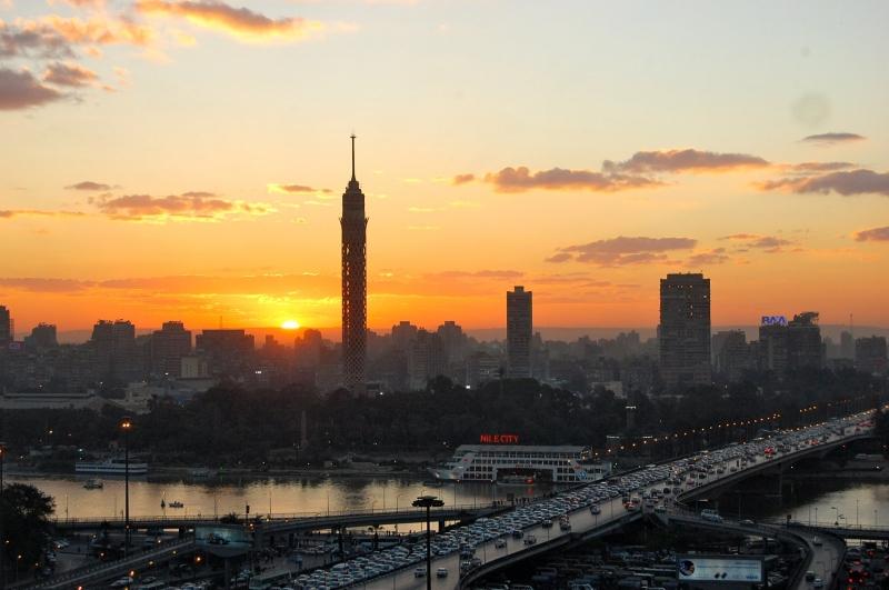 El Cairo por la noche