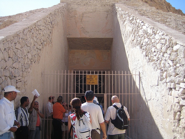 Ramses IX Tomb Entrance