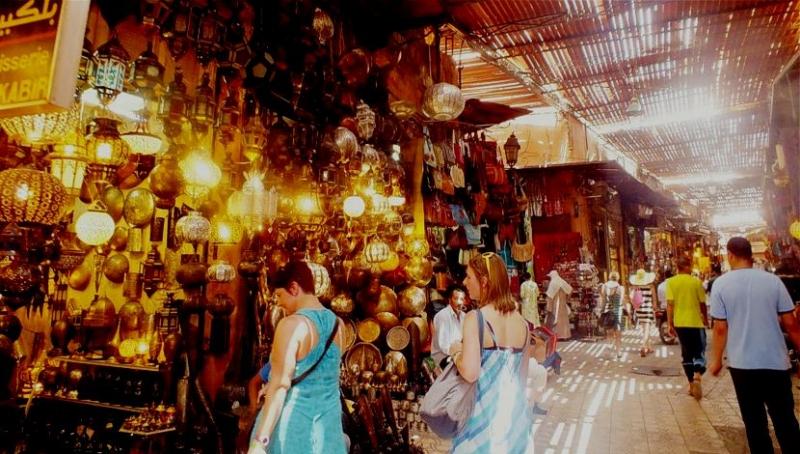 los zocos, Marrakech.