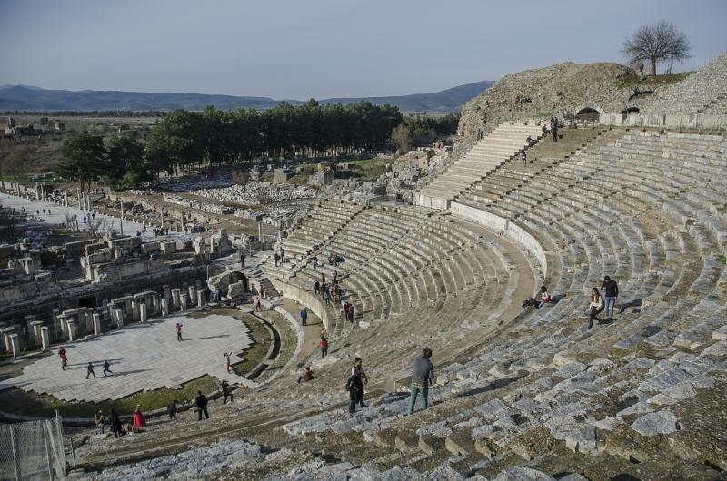 O Teatro Romano - Éfeso