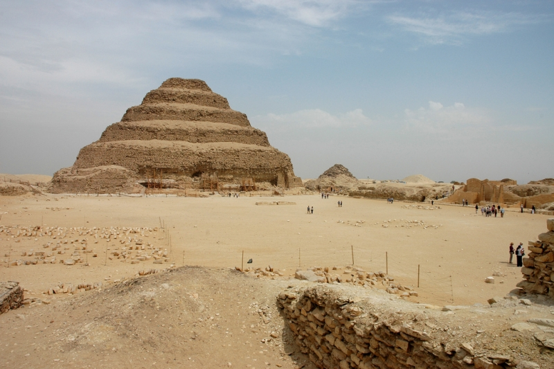 Khaba Pyramid- the Layer Pyramid
