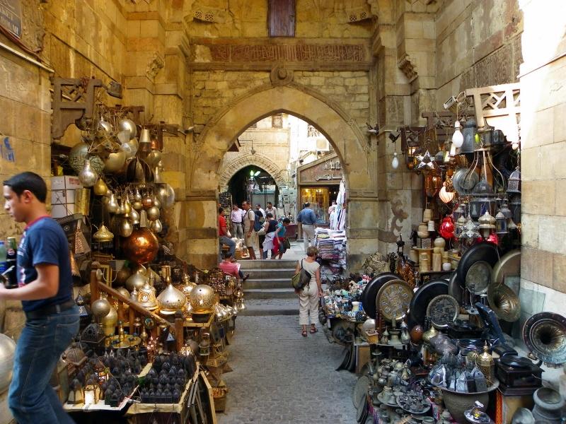 Khan El Khalili Bazaar, Cairo Vecchio