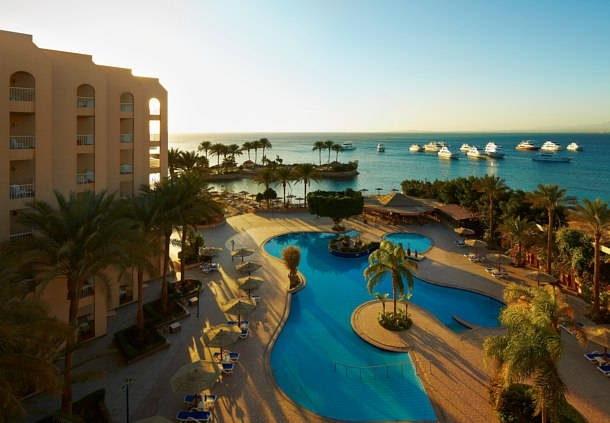 Hurghada Marriott Beach Resort Pool