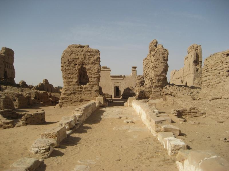 Qasr el-Zayyan, Oasis de Kharga