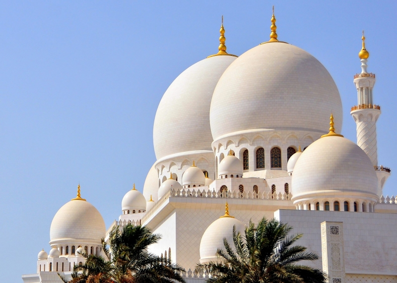 Domes of Sheikh Zayed Mosque
