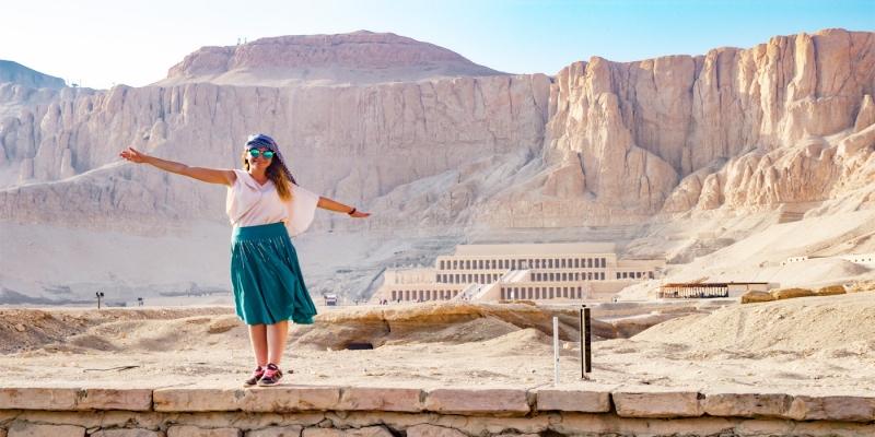 El Templo de Hatshepsut en Luxor