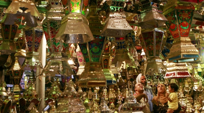 Ramadan Lanterns Sellers