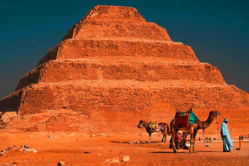Stufenpyramide von Djoser