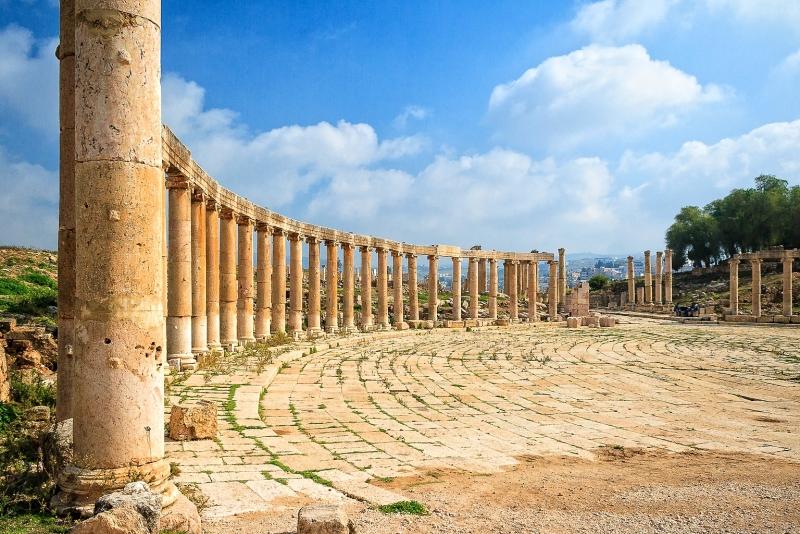 Plaza Olvada, Jerash