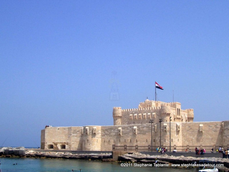 Sea View of Qaitbay Citadel