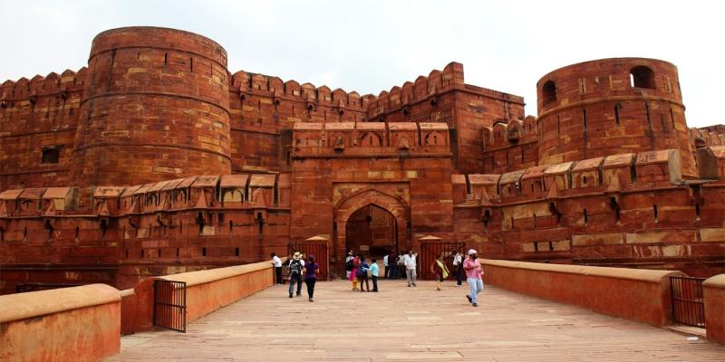 El Fuerte Rojo de Agra