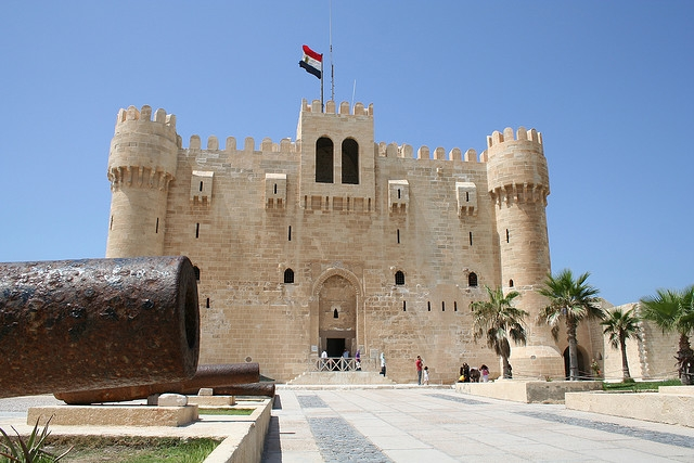 Qaitbey Fortress in Alexandria