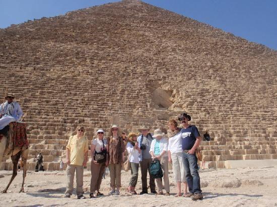 La Piramide di Cheope a Giza