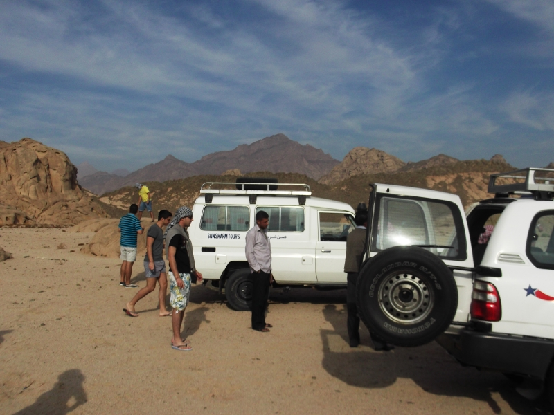 Jeep Safari Car 4x4, Sharm