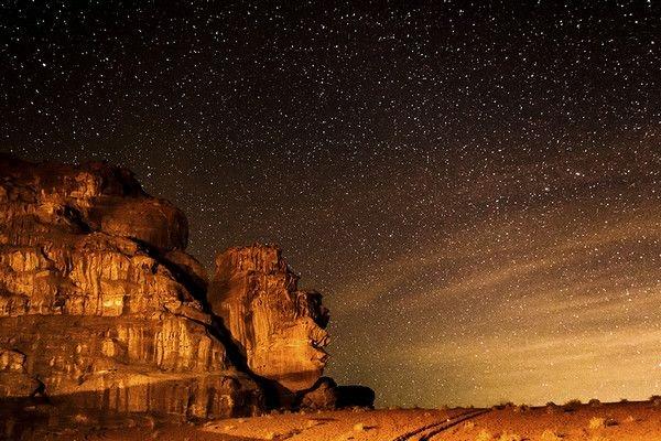 Camping em Wadi Rum