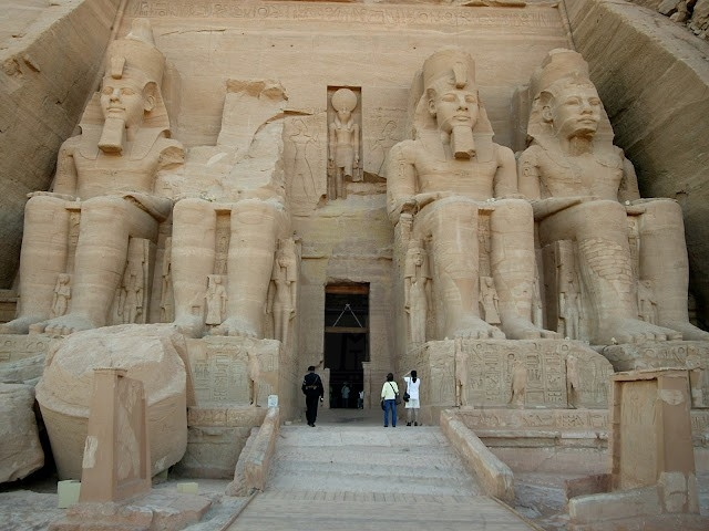 Temple of Rameses II in Abu Simbel