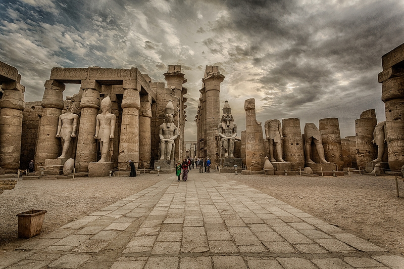 Luxor Temple Upper Egypt