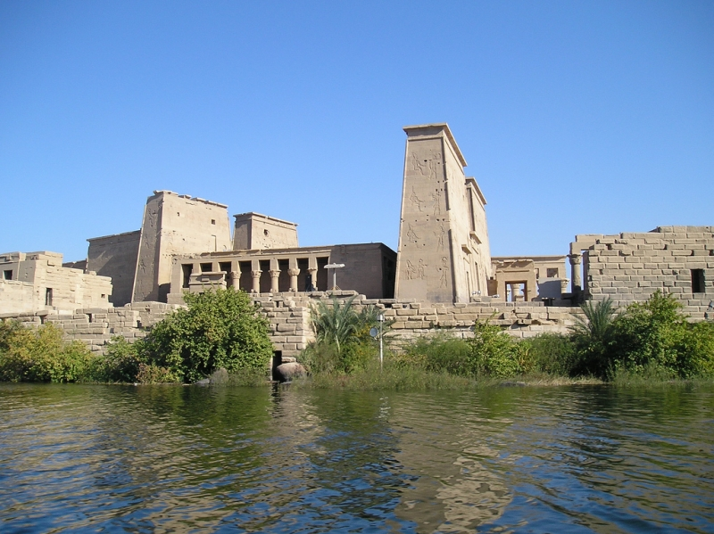 Philae Temple on Aswan Nile