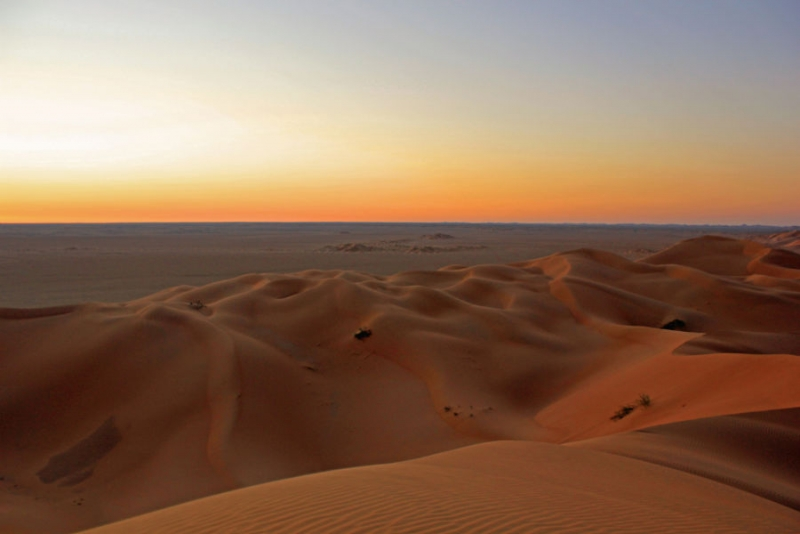The Empty Quarter of Oman